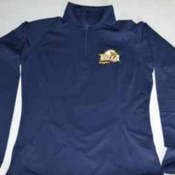 1/4 Zip Poly with EAGLE Logo