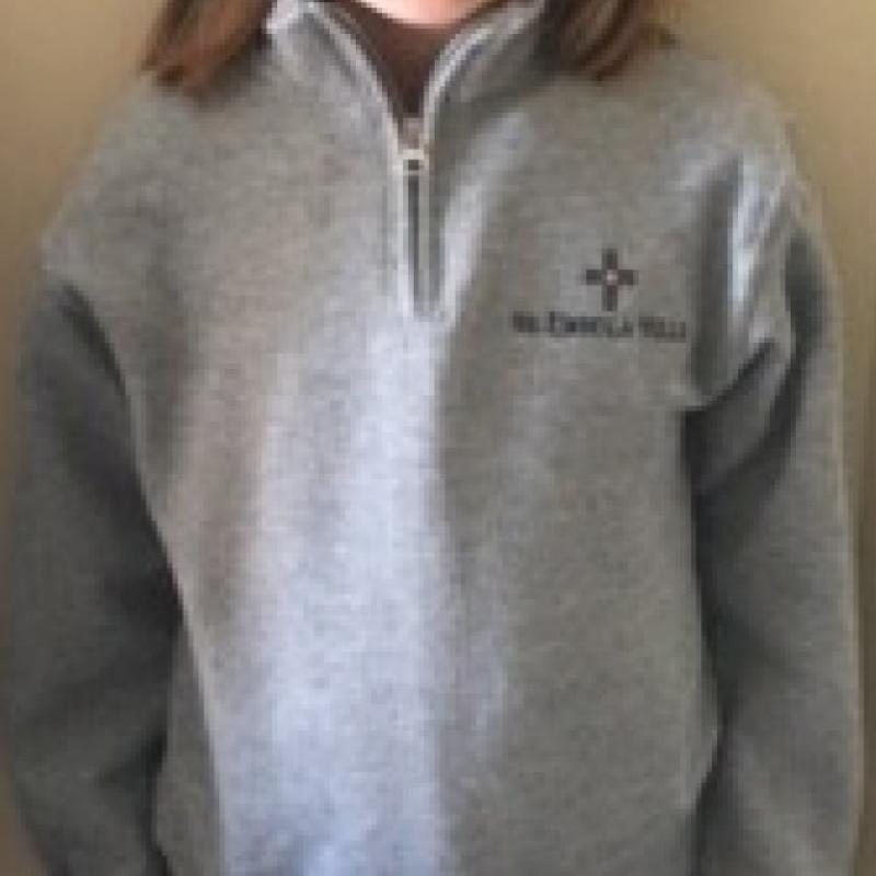 Uniform 1/4 Zip Sweatshirt
