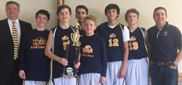 Villa Boys Basketball Champs!