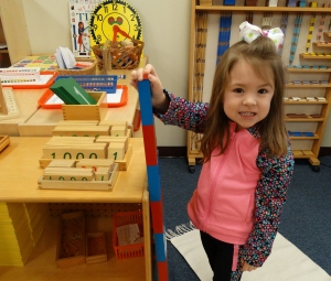 Montessori Program (3-, 4-, and 5-year-olds)