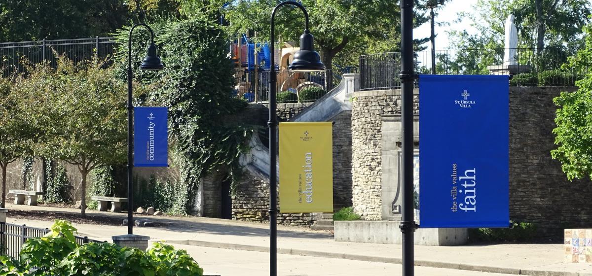 Villa way new banners